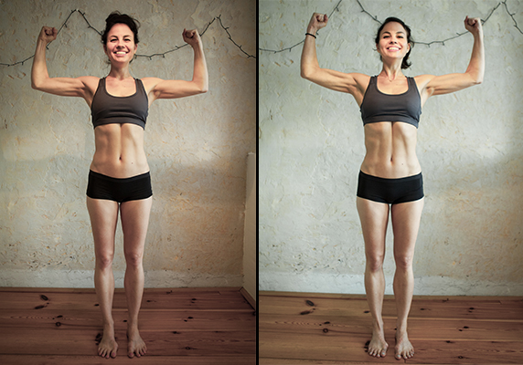 28 Days of Me Before and After - CrossFit